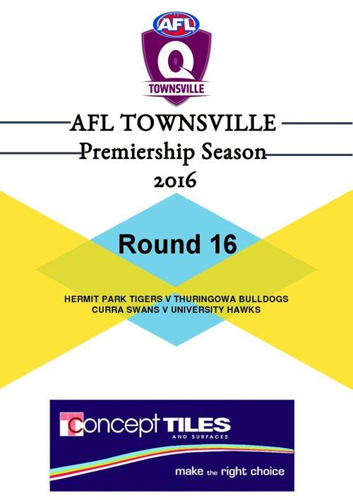 AFLT Record Round 16 2016
