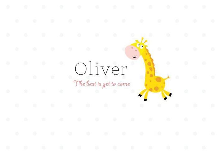 Oliver's Baby Shower Invite