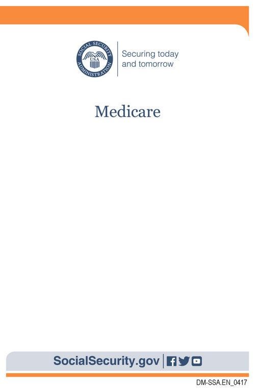 SSA Medicare Booklet