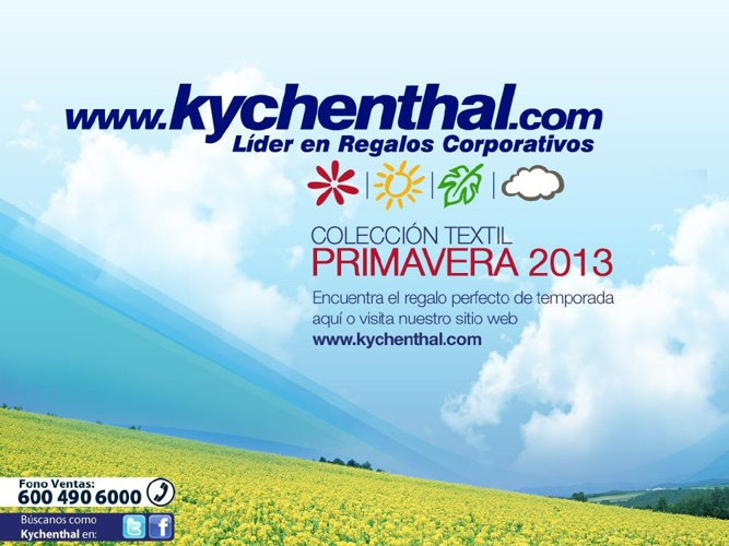 KYCHENTHAL PRIMAVERA 2013