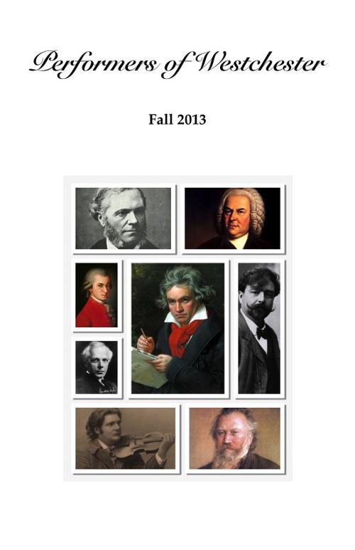 POW Fall 2013 Program Abridged