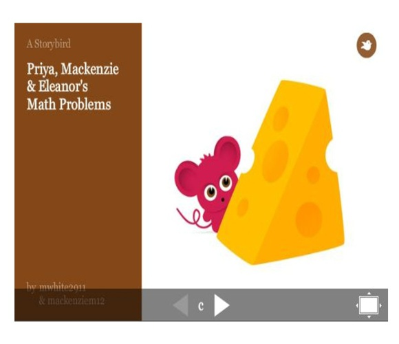 Math Storybirds for Homework this Week (April 30)