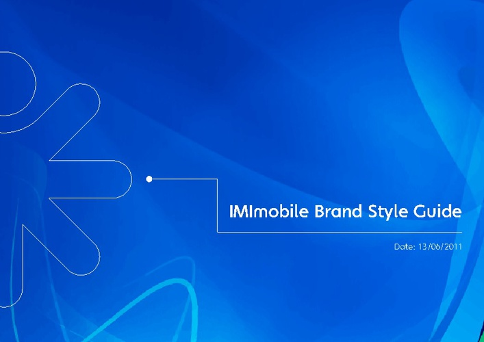 IMImobile Brand Style Guide