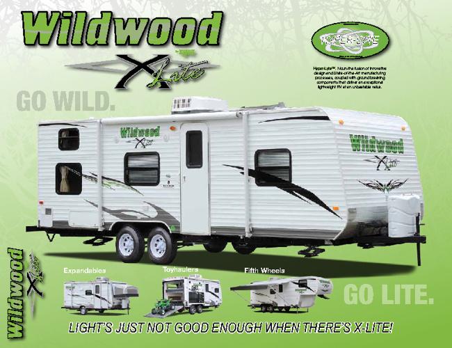 2011 Wildwood X-Lite by ForestRiver brochure
