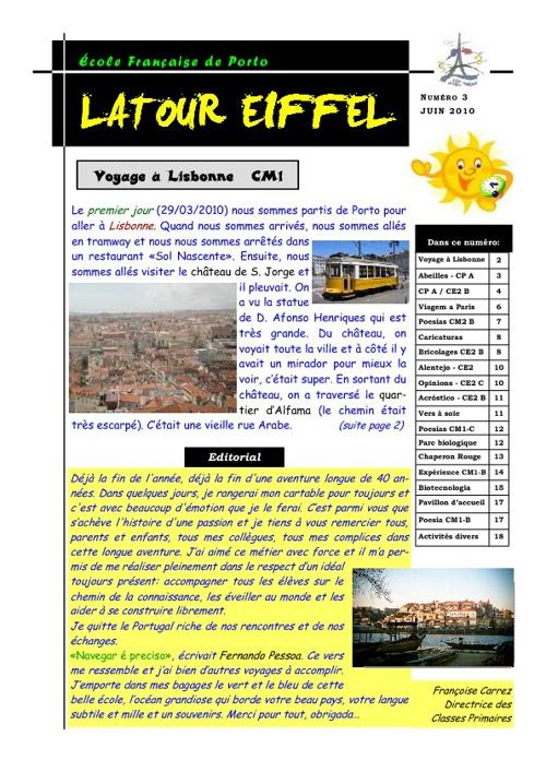 Jornal - Latour Eiffel (junho)