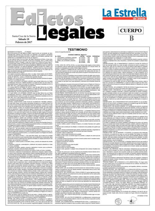 Judiciales 18 sábado - febrero 2017