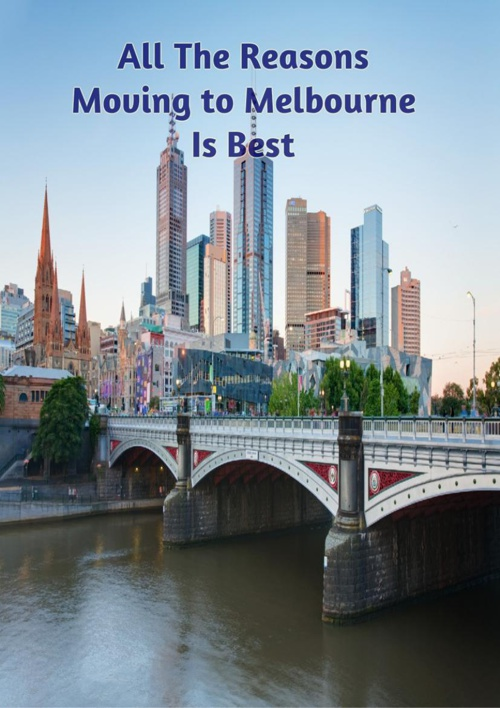 Why Move To Melbourne