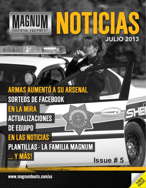 Magnum USA News # 5 spanish 2013
