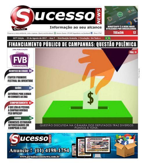 Jornal Sucesso News - Edição - 307 ONLINE