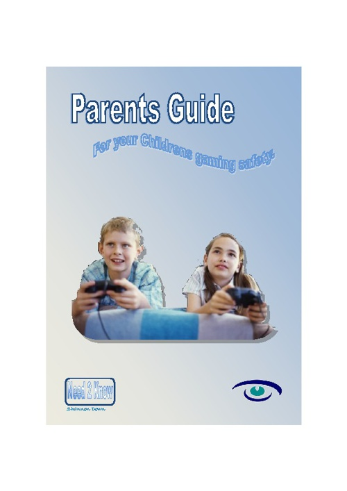 Gaming Guide for Parents by Shannon Down