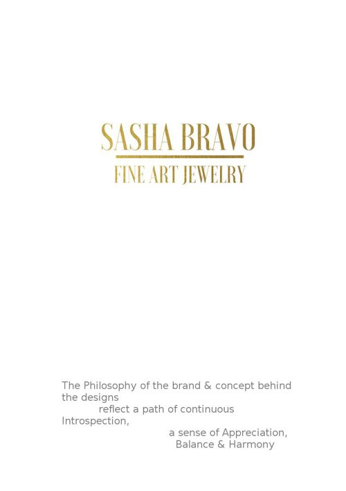 One of a Kind Fine Art Jewelry-Sasha Bravo