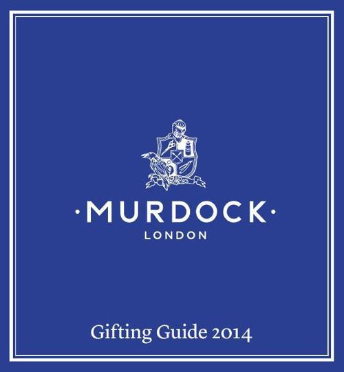 Murdock London Gifting Guide 2014