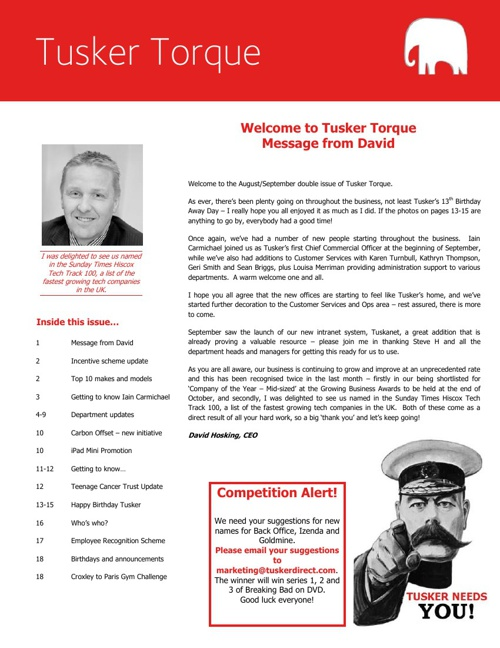 Tusker Torque - Issue 14