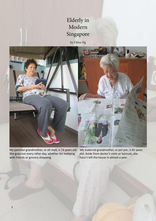 Chloe's TJ CA1: Elderly in Modern Singapore