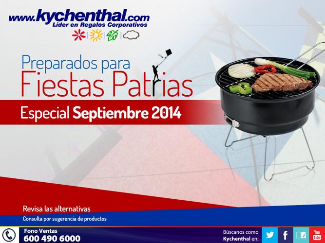 Especias Fiestas Patrias 2014