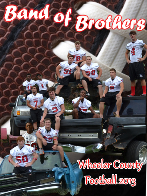 """Band of Brothers"" 2013 Wheeler County Football Program"