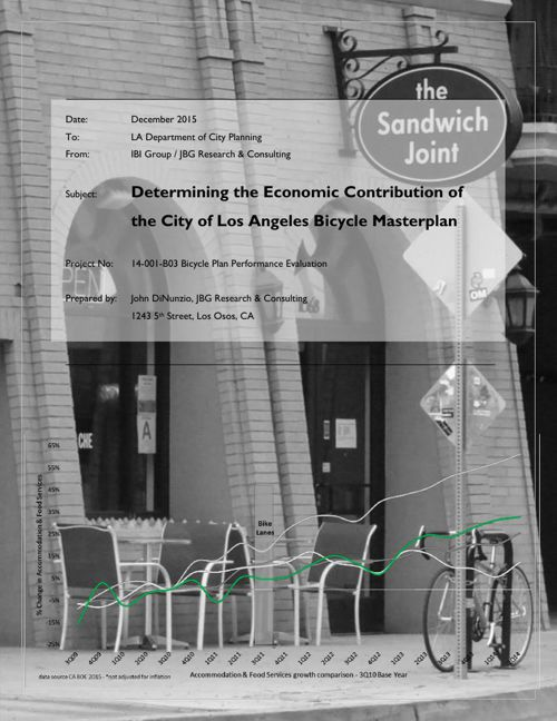 Economic Contribution of Los Angeles Bicycle Masterplan