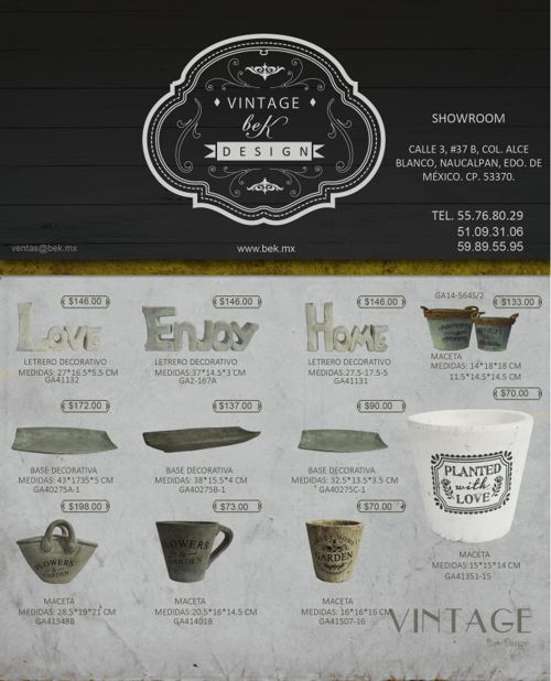 Bek-Design Catálogo Julio 2015