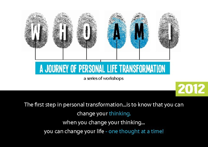 A JOURNEY OF PERSONAL LIFE TRANSFORMATION