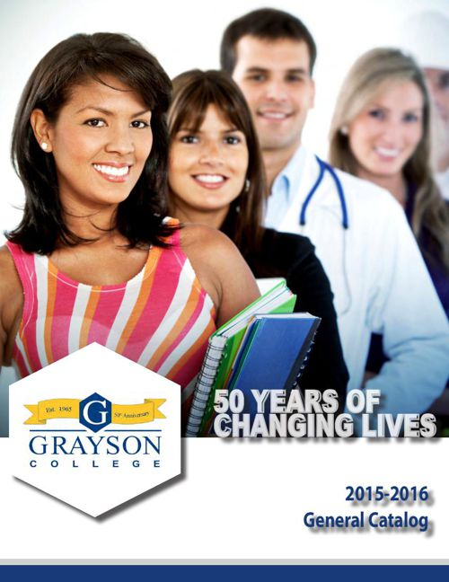 2015-2016 Grayson College Catalog