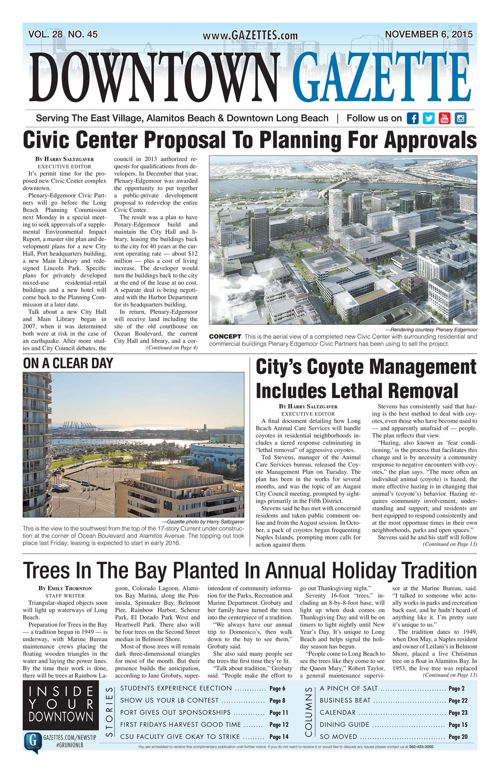 Downtown Gazette  |  November 6, 2015