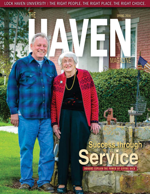 The Haven Magazine print