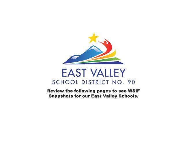 East Valley Schools WSIF Snapshots