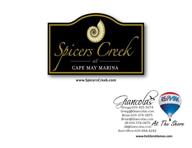 Spicers Creek At Cape May Marina
