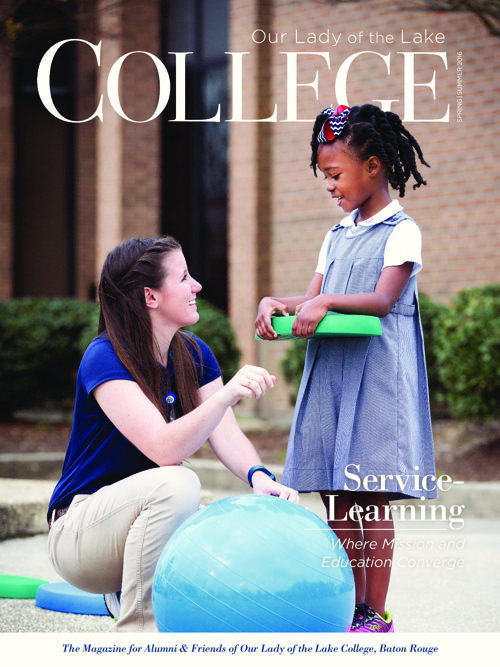 Our Lady of the Lake College Magazine