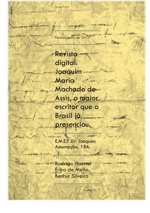Revista Digital: Machado de Assis.