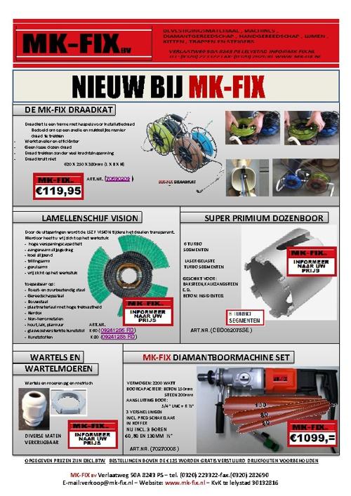 Actie's MK-Fix b.v.
