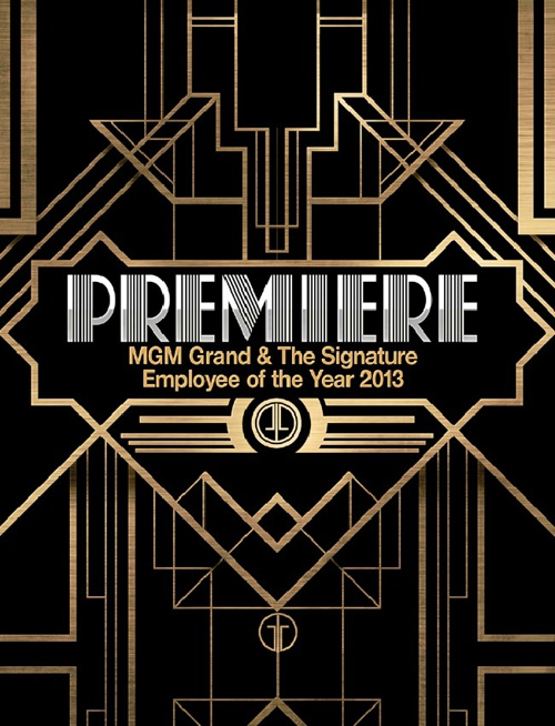 Premiere: MGM Grand EOY 2013 Booklet