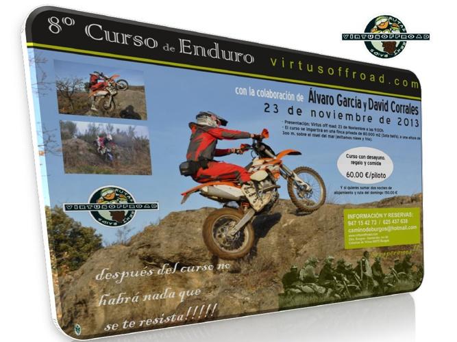 Curso de Enduro Virtus Off Road Alvaro Garcia & David Corrales