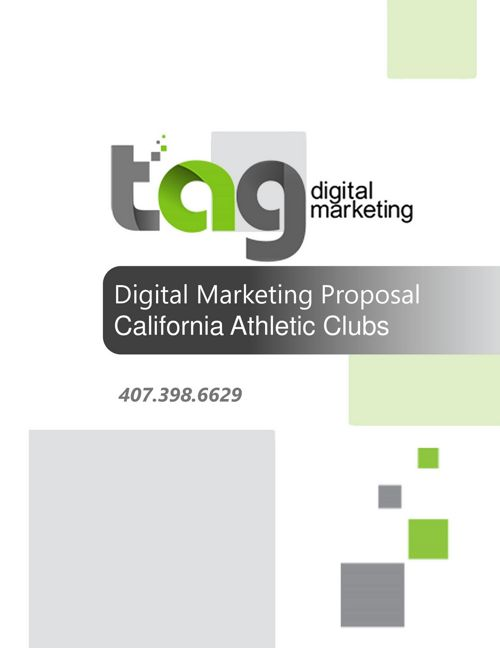 California Athletic Club Marketing Proposal_20161201