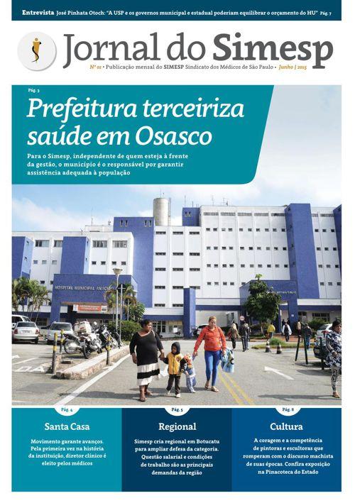 Jornal do Simesp   Junho   2015