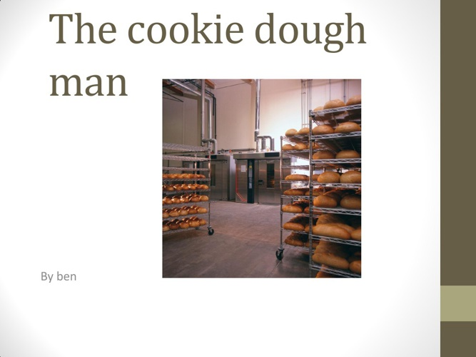 the cookie dough man