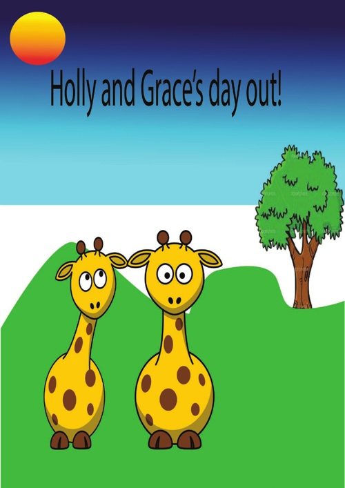 Grace and Holly's day out.