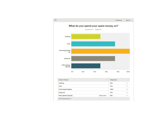 Audience Questionnaire Results