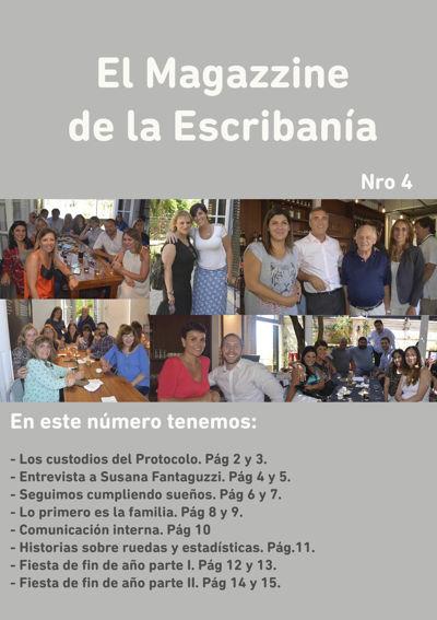 El Magazzine de la Escribanía Nro. 4