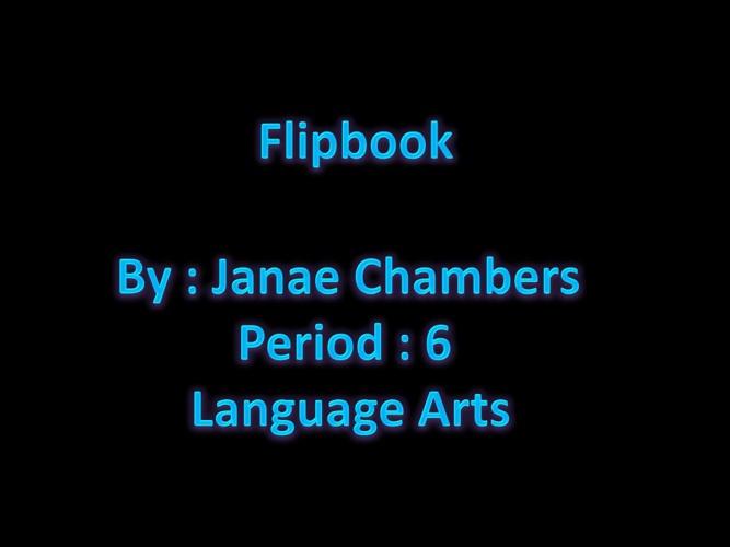 FlipBook janae