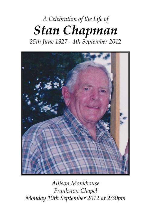 Stan Chapman