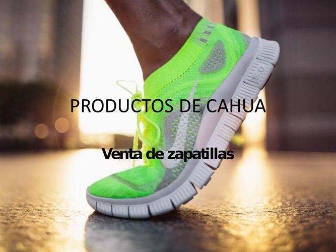 PRODUCTOS DE CAHUA