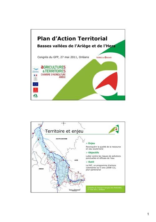 Plan d'Action Territorial Basse vallées de l'Ariège et de l'Hers