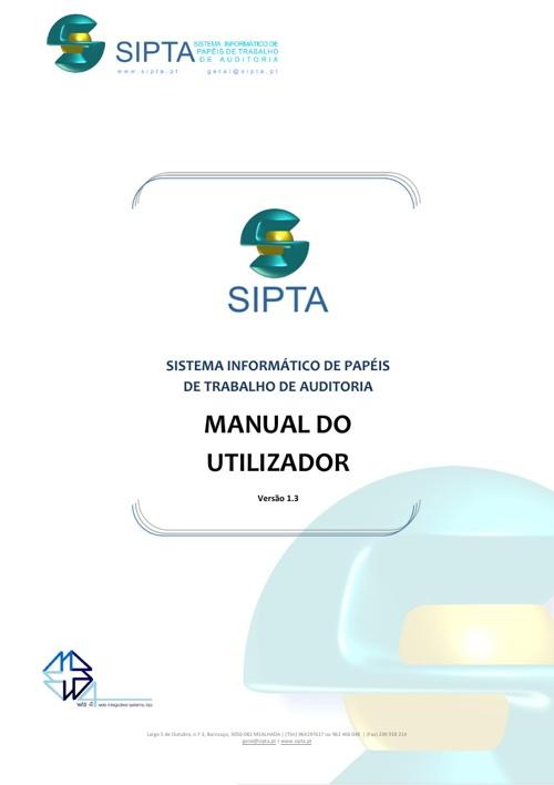 SIPTA - Manual do Uilizador 1.3