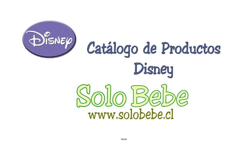 Catálogo de Productos Tienda Solo Bebe