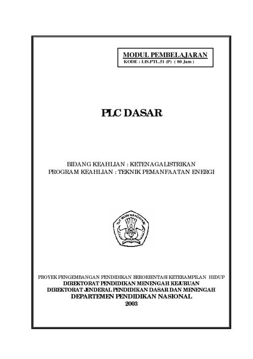 PLC DASAR