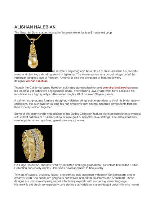 ALISHAN HALEBIAN