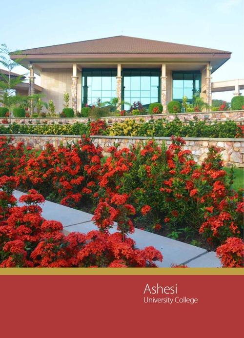 Ashesi Catalog