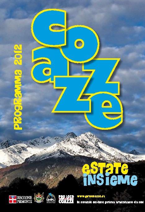 COAZZE - Estate Insieme 2012