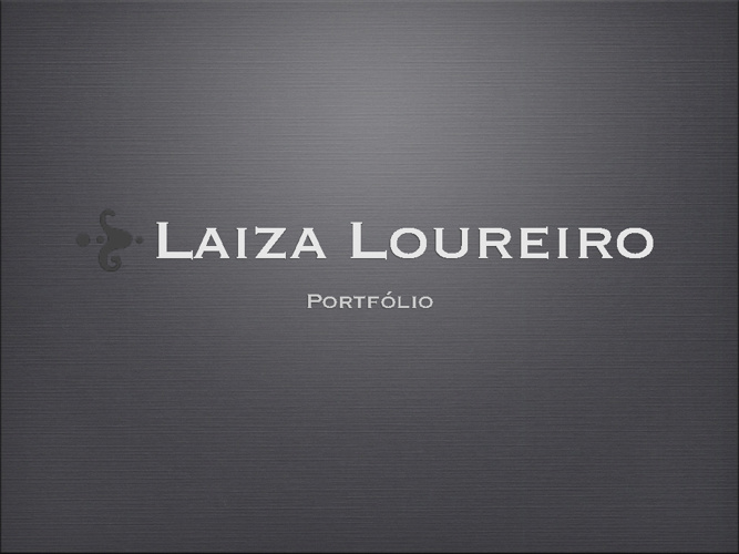 Portfólio Laiza Loureiro